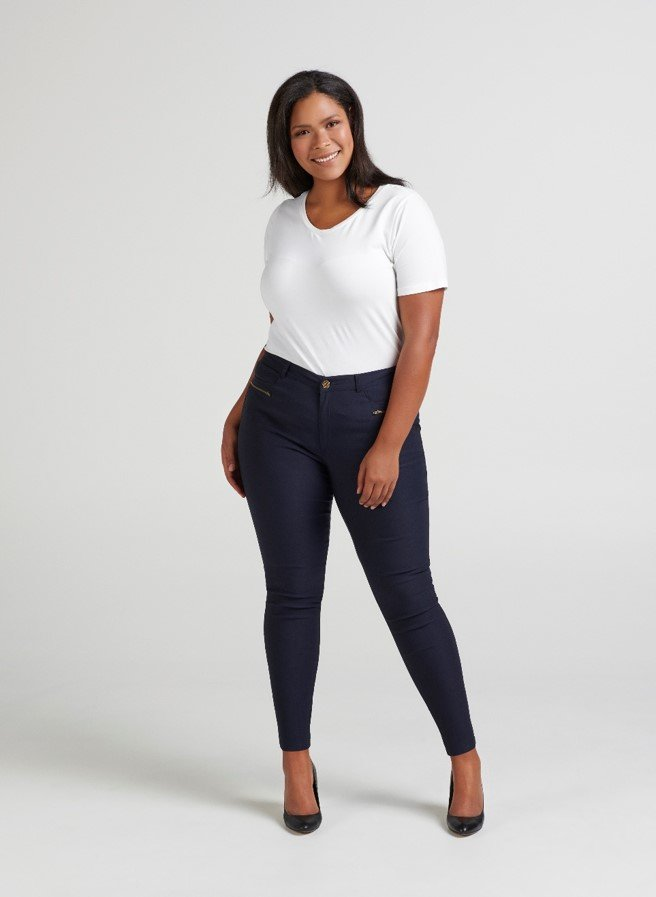 Zizzi - Jeggings - dark blue