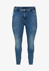 Zizzi - NILLE  - Jeans Skinny Fit - blue - 0