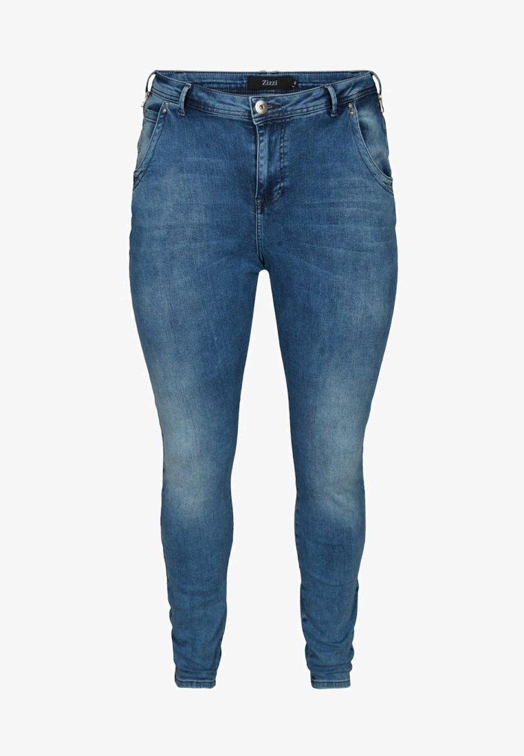 Zizzi - NILLE  - Jeans Skinny Fit - blue