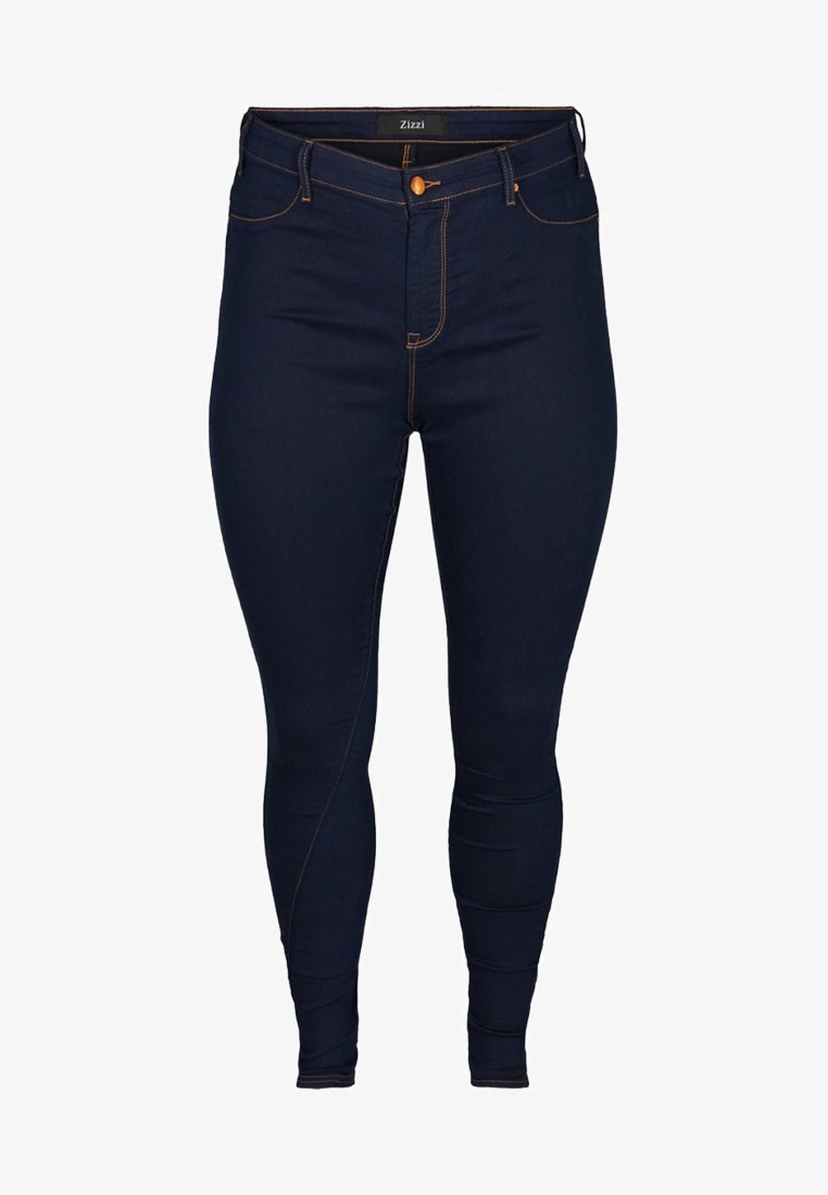 Zizzi - Jeans Skinny Fit - dark blue