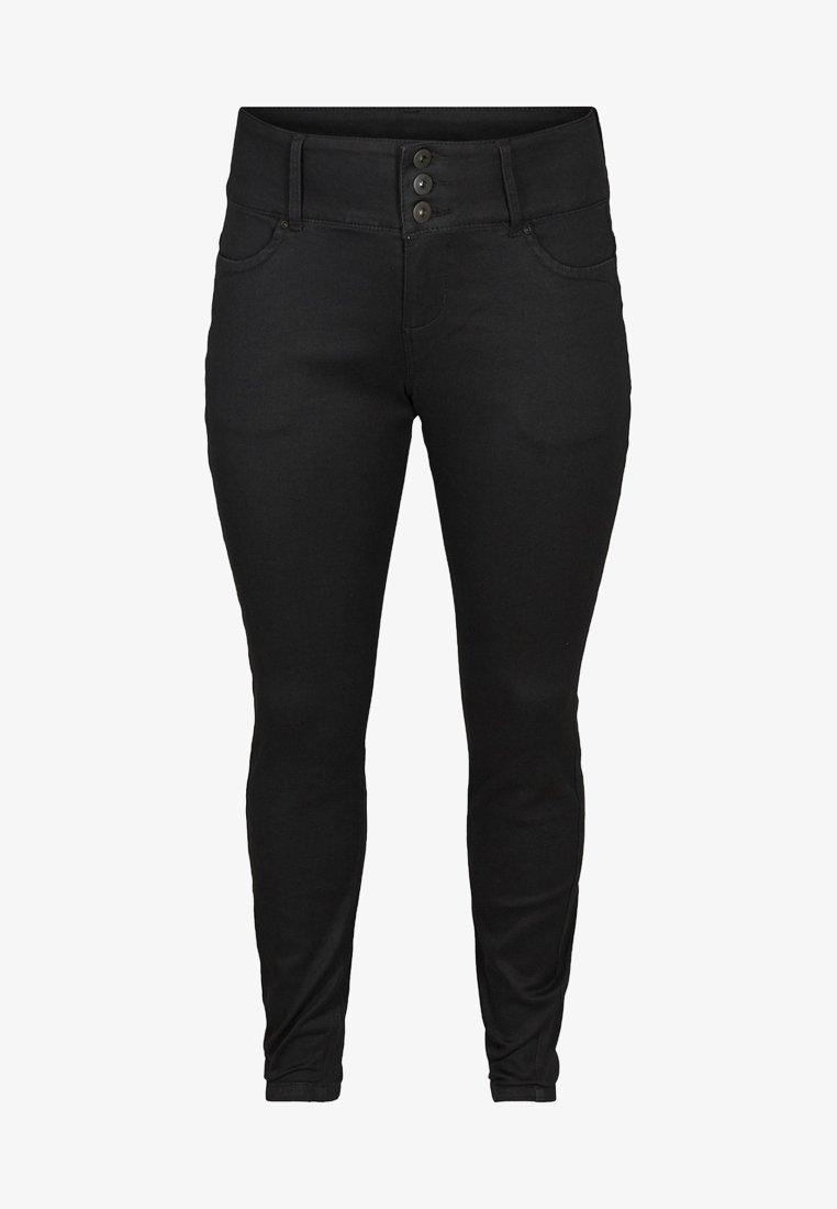 Zizzi - AMY  - Jeans Slim Fit - black