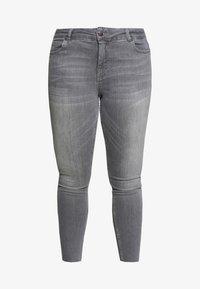 Zizzi - JPOSH AMY - Jeans Skinny Fit - grey denim - 3