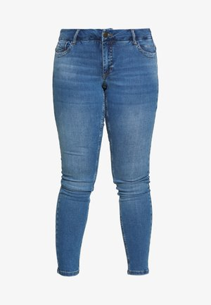 LONG SANNA - Jean slim - light blue denim