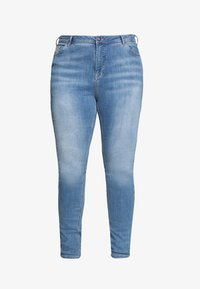 Zizzi - Džíny Slim Fit - light blue denim - 3