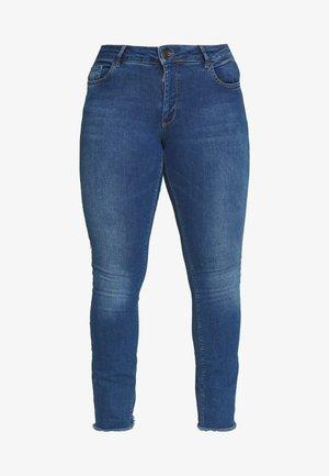 SANNA - Slim fit jeans - blue denim