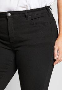 Zizzi - AMY - Jeans Skinny Fit - black - 4