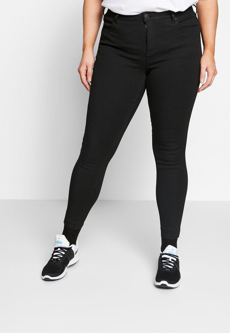 Zizzi - AMY - Jeans Skinny Fit - black