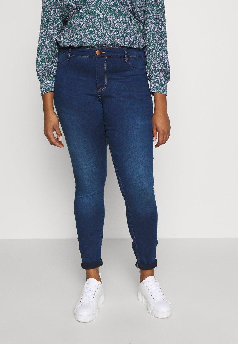Zizzi - JANNA - Kalhoty - blue denim