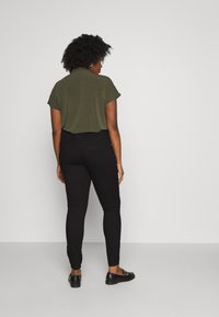 Zizzi - JANNA - Trousers - black - 2