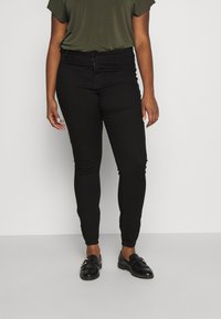 Zizzi - JANNA - Trousers - black - 0