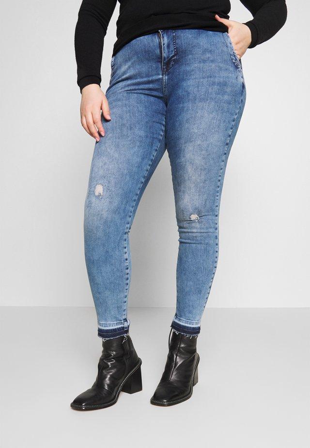 AMY SUPER SLIM - Skinny džíny - light blue denim