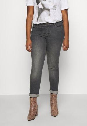 EMILY FIT - Jeans Slim Fit - grey denim