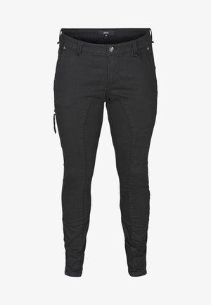 LONG, SANNA - Jeans slim fit - black