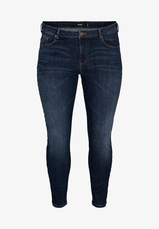 AMY  - Slim fit jeans - blue