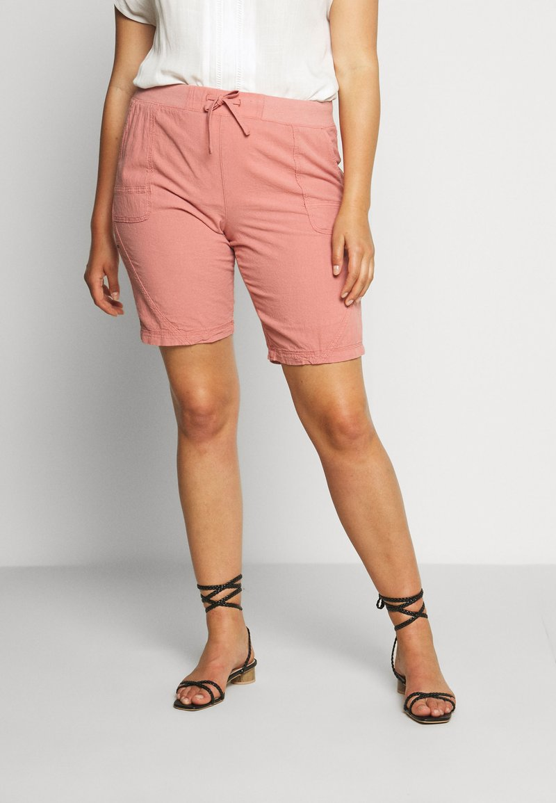 Zizzi - ABOVE KNEE - Shorts - old rose