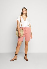 Zizzi - ABOVE KNEE - Shorts - old rose - 1