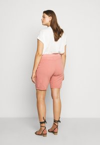 Zizzi - ABOVE KNEE - Shorts - old rose - 2