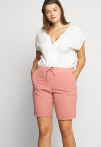 Zizzi - ABOVE KNEE - Shorts - old rose - 3