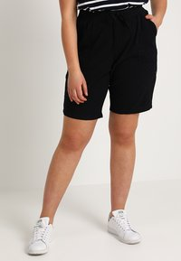 Zizzi - ABOVE KNEE - Shorts - black - 0