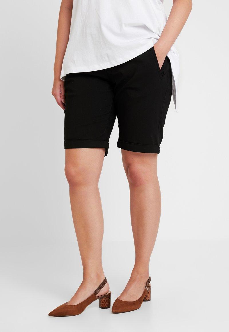 Zizzi - JISABELLA - Shorts - black
