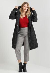 Zizzi - COAT - Classic coat - dark - 1
