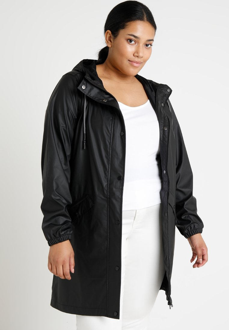 Zizzi - RAINCOAT - Parkas - black