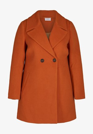 Short coat - dark orange