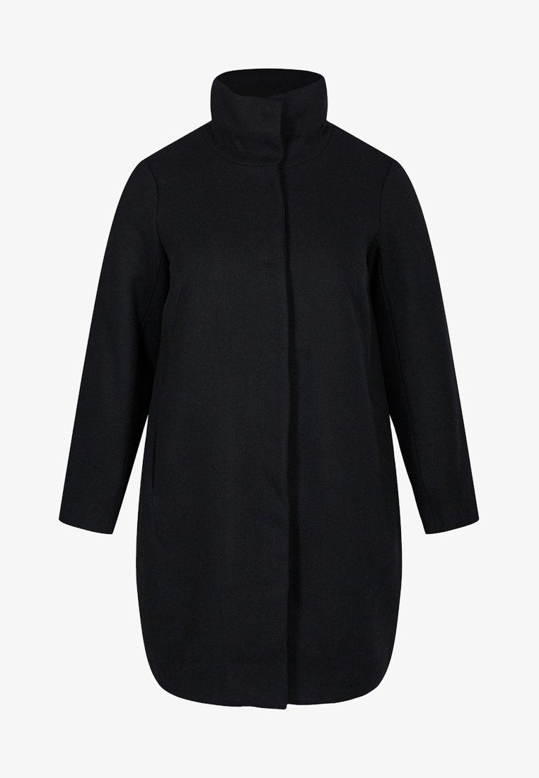 Zizzi - MIT WOLLE - Short coat - black