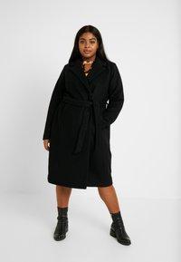 Zizzi - MYOLANDA  COAT - Classic coat - black - 0