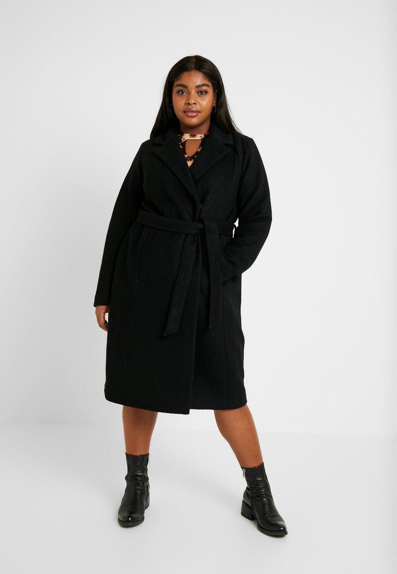 Zizzi - MYOLANDA  COAT - Frakker / klassisk frakker - black