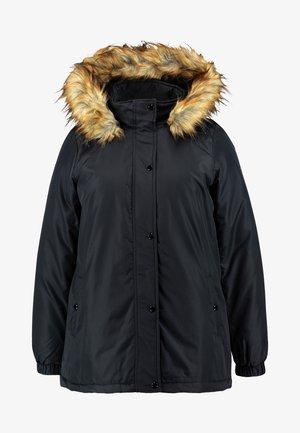 MANNA COAT - Abrigo de invierno - black