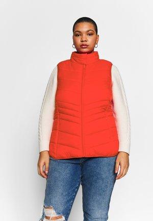WAISTCOAT - Waistcoat - high risk red