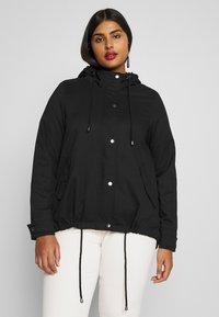Zizzi - MCAMMA JACKET - Summer jacket - black - 0