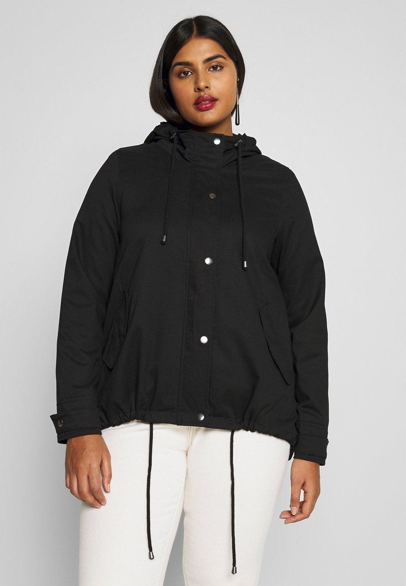 Zizzi - MCAMMA JACKET - Summer jacket - black