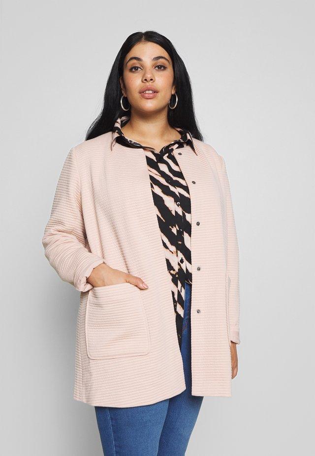 COAT - Krátký kabát - rose