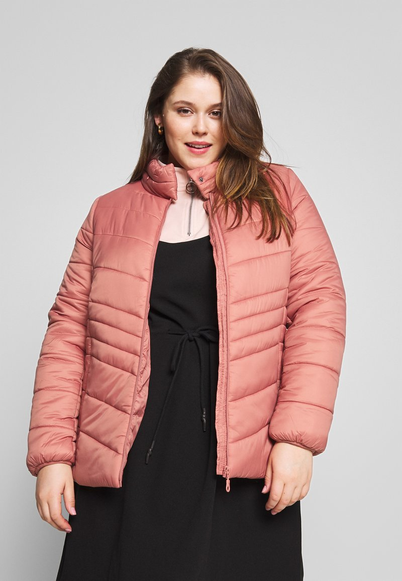 Zizzi - MAGGIE JACKET - Light jacket - dusty cedar