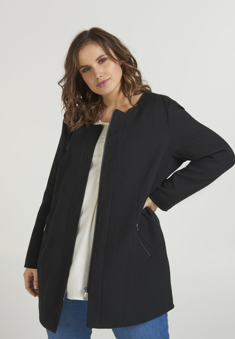Zizzi - Short coat - black