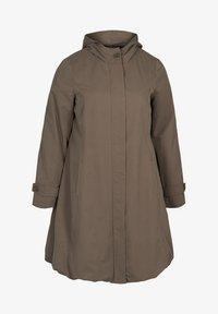 Zizzi - Trenchcoat - brown - 3