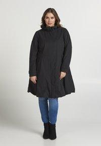 Zizzi - Short coat - black - 1