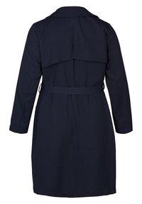 Zizzi - Trenchcoat - dark blue - 6