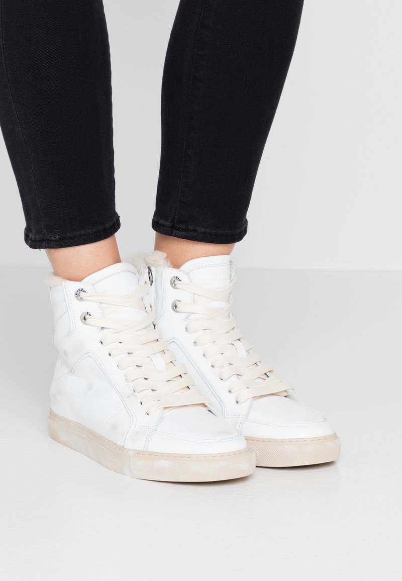 Zadig & Voltaire - USE - Sneakers high - blanc