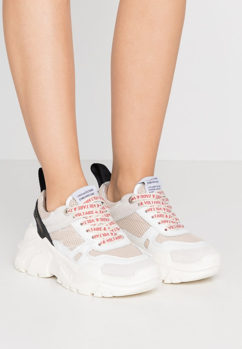 Zadig & Voltaire - FUTURE - Trainers - blan
