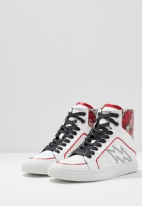 Zadig & Voltaire - High-top trainers - blanc - 4