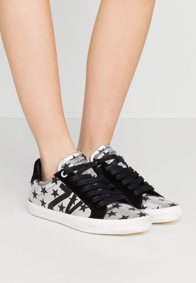 Zadig & Voltaire - USED - Trainers - silver