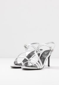 Zadig & Voltaire - MARYLIN METALIC - High heeled sandals - silver - 4