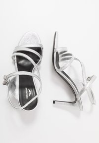 Zadig & Voltaire - MARYLIN METALIC - High heeled sandals - silver - 3