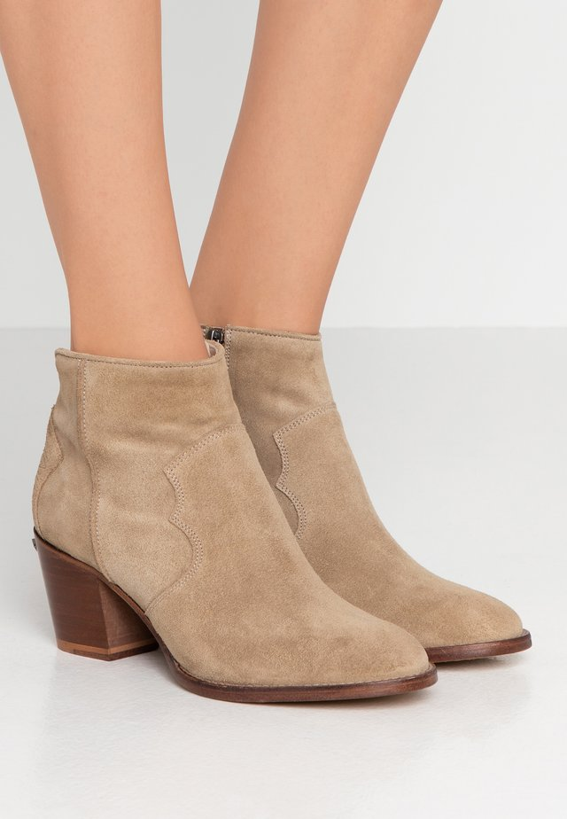 MOLLY - Ankle boots - taupe