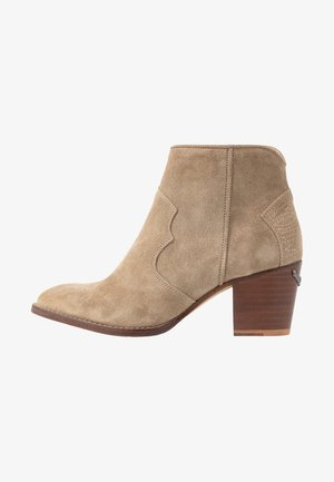MOLLY - Boots à talons - taupe