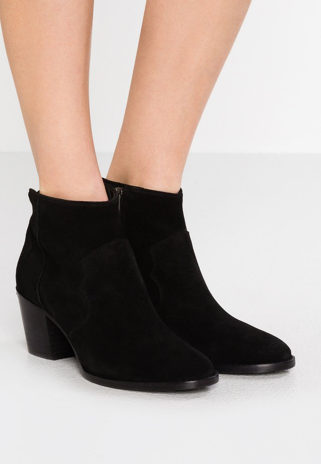 MOLLY - Ankle boot - noir