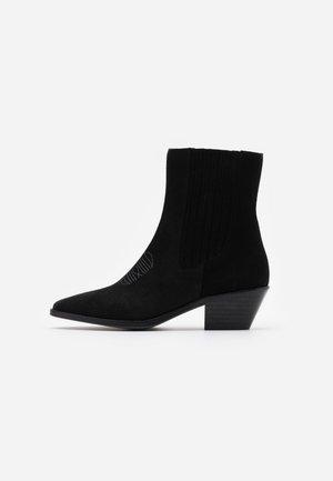TYLER  - Cowboy/biker ankle boot - noir